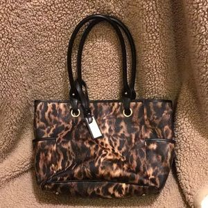 Calvin Klein leopard print purse!